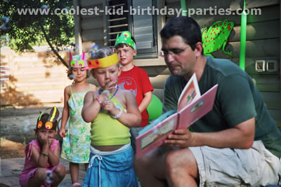 Elad's Frog Party Tale