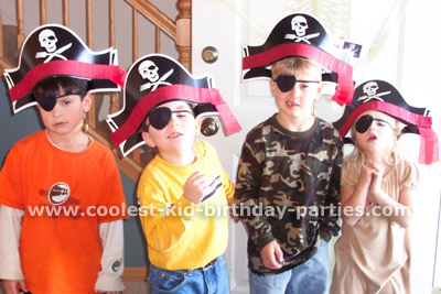 Shannon 's Pirate Party Tale