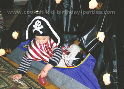 Janine's Pirate Birthday Party Tale