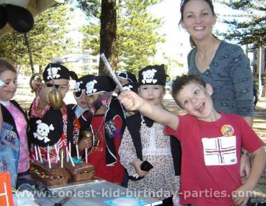 Karen's Pirate of the Caribbean Party Tale