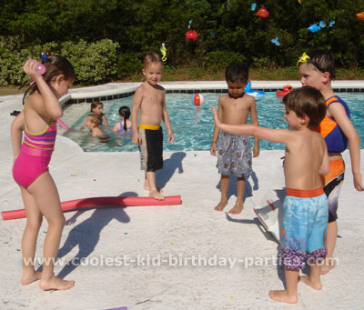 Mariana's Pool Party Tale