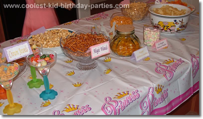 Melanie's Princess Party Tale