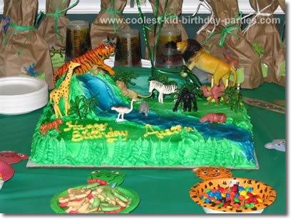 Angela's Safari Party Tale