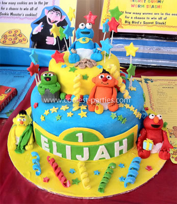 Coolest Sesame Street First Birthday Party Ideas From Start