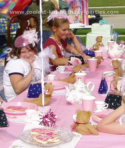 Amy's Teddy Tea Party Tale