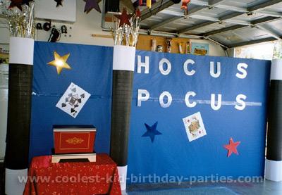 Kim's Magic Theme Party Ideas