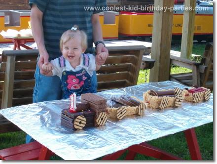 Train Birthday Party Tale