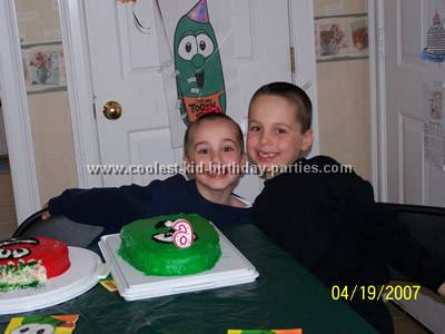 Veggie Tales Birthday Party