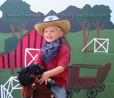 Janine's Wild West Party Tale