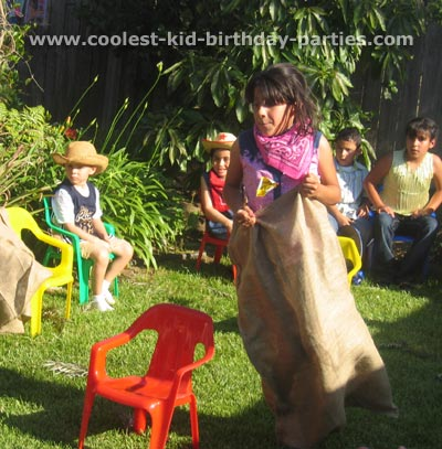 Araceli's Wild Wild West Birthday Party Tale