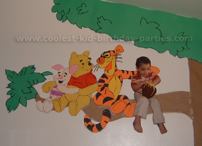 Margaret's Winnie the Pooh Birthday Party Tale